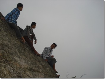 Puncak gunung lima