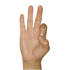 hand sign